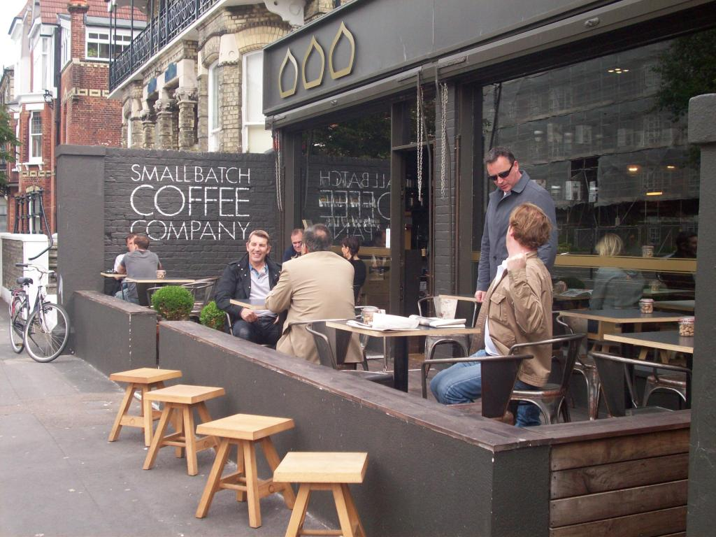 Small Batch Coffee Company in Wilbury Road
